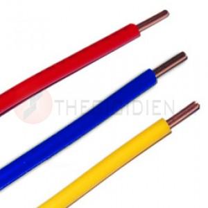 Dây điện đồng bọc nhựa 1 lõi cứng VC-2.5 (F1.77) - 450/750V
